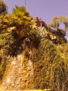 Castillo  Hidalgo , Cerro Santa Lucia , Santiago