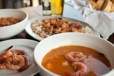 """In Search Of… the recipe for Marina Del Rey's """"Killer Shrimp"""", making this now!"""