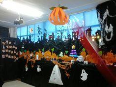 Nuestra biblioteca se vistió de Halloween