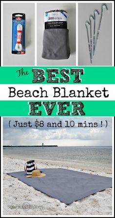 The BEST Beach Blanket ever! - Sawdust 2 Stitches