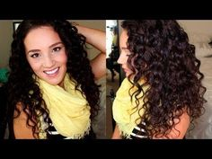▶ Updated Curly Hair Routine (Sulfate Free) | 2013 - YouTube