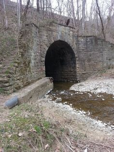 Eerie Indiana: The Crooked Creek Rail Bridge - Madison, Indiana