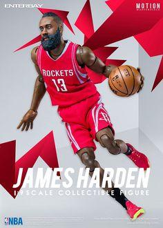 64d621f2604e James Harden (Houston Rockets) 1 9th Scale 8