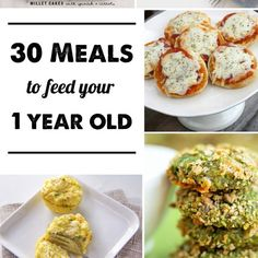 30 Meals for 1-year-olds: Dinner ideas for young toddlers