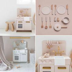 #Speelgoed #hout #speelkeuken | Petite Amélie via Kinderkamerstylist Playroom Ideas, Kids Toys, Vanity, Mirror, Interior, House, Furniture, Home Decor, Childhood Toys