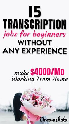 15 transcription jobs for beginners without any experience. Ways To Earn Money, Earn Money From Home, Earn Money Online, Way To Make Money, Transcription Jobs From Home, Transcription Jobs For Beginners, Legit Work From Home, Work From Home Jobs, Typing Jobs