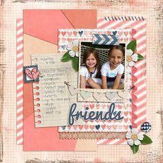 Ava & Aubrey  by Lisa Reid @2peasinabucket