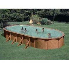PONTAQUA WOOD STAR ovalni bazen 7,3x3,75x1,32 m