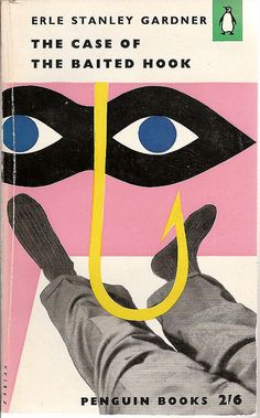 The Case of the Baited Hook - Penguin book cover by Covers etc, via Flickr