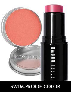 water-resistant blush