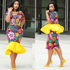 We are here again with the beautiful collection of modern African dress designs for young ladies. These are made up Ankara print that can use to sew different styles such long and short gown, shirt and blouse, jumpsuit African Fashion Designers, African Fashion Ankara, African Print Dresses, African Print Fashion, Africa Fashion, Kente Styles, Ankara Gown Styles, Latest Ankara Styles, African Attire
