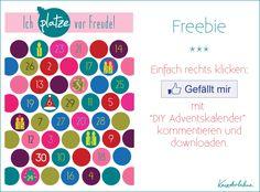 Adventskalender - Freebie