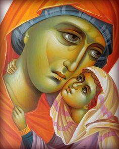 Raphael Angel, Archangel Raphael, Religious Icons, Religious Art, Saint Joachim, Greek Icons, Byzantine Art, Art Thou, Madonna And Child