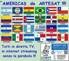 AMERICAS da #ARTESAT !!! Tutti in diretta tv senza la parabola solo con la linea internet !!!! www.artesat.it #as96 #aspc #stgoasbl #staswpbl  #stdwasfbpg #stdwfbac #sttcanot #stasappi #sttegfbac #sttggsp