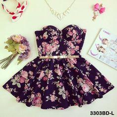 Bimmer Bustier Dress