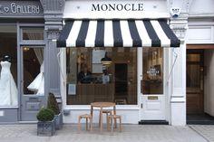 Monocle: una cafeteria coqueta en Londres