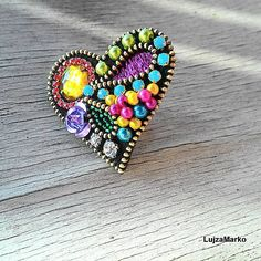 LujzaMarko / Gypsy heart prsteň