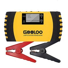 GOOLOO 1000A Car Jump Starter (up to 7.0L Gas, 5.5L Diesel Engine) Heavy Duty 12V 20800mAh Portable Phone Power Bank Auto Battery Charger Pack Booster Built-in LED Light and Smart Protection. For product info go to:  https://www.caraccessoriesonlinemarket.com/gooloo-1000a-car-jump-starter-up-to-7-0l-gas-5-5l-diesel-engine-heavy-duty-12v-20800mah-portable-phone-power-bank-auto-battery-charger-pack-booster-built-in-led-light-and-smart-protection/