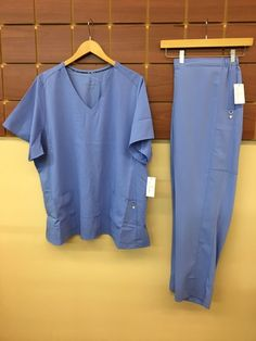 1f692ac3753 NEW Vera Bradley Ceil Blue Solid Scrubs Set With 3XL Top & 3XL Petite Pants  NWT #fashion #clothing #shoes #accessories #uniformsworkclothing #scrubs  (ebay ...