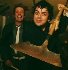 #GreenDay - Billie Joe Armstrong & Tre Cool