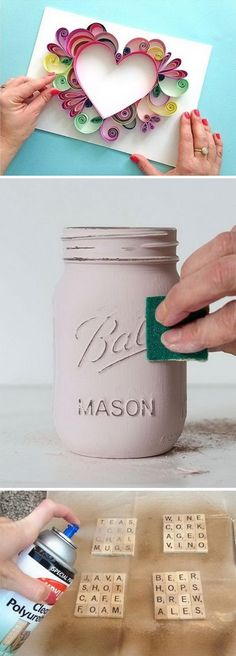 Easy to Make DIY Gift Ideas and Tutorials.
