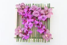 Pink hue flowers in box by Tirtha Bridal Uluwatu Bali Wedding Locations, Wedding Venues, Wedding Planner, Destination Wedding, Exotic Wedding, Calla Lily, Color Themes, White Roses, Wedding Colors