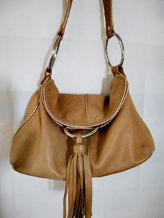 Vintage tan Leather designer Alfani shoulder Bag by houuseofwren, Vintage  Bags, Etsy Vintage, 75cf1500f9