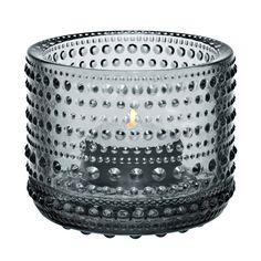 Kastehelmi ljuslykta, grå i gruppen Inredningsdetaljer / Dekoration hos RUM21.se (128279)
