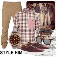 STYLE HIM. by mariah