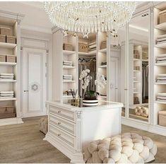 Dream Home Design, Home Interior Design, House Design, Interior Decorating, Decorating Bedrooms, Luxury Interior, Decorating Tips, Interior Styling, Bedroom Decor