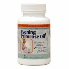 Evening Primrose Oil Capsules for Fertility. I was unsuccessful the 1st 3 cycles of getting preggo. I used evening primrose and got pregnant on my 4th cycle. I was 41 - my first pregnancy - and I now have a healthy, gorgeous 15 month old. Worked for me. :)