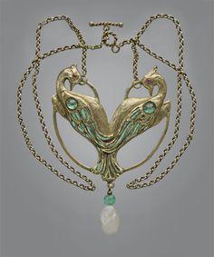 omgthatdress:  NecklaceCharles Boutet de Monvel, 1904Tadema Gallery