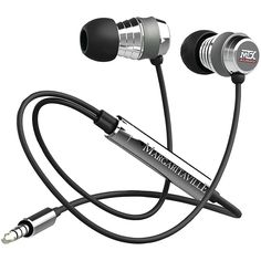 Margaritaville Mix2 In-Ear Monitor Headphones with Microphone - Black Sand