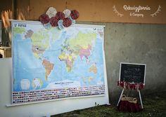 Stoisko edukacji globalnej. Budkę wynajmujemy na różnego rodzaju przyjęcia. #rekwizytorniaandcompany #wesele #urodziny #dekoracje #trójmiasto #lemoniada
