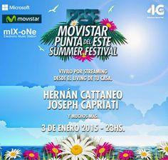 mIX-oNe-FM: MOVISTAR PUNTA DEL ESTE SUMMER FESTIVAL