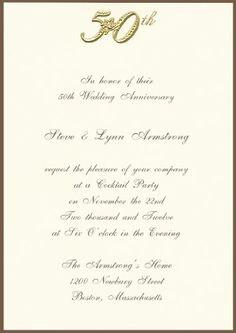 25th Wedding Anniversary Gift Certificate Template : 50th Wedding Anniversary on Pinterest 50th Wedding Anniversary, 50th ...