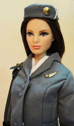 Pan-Am Barbie by possiblezen, via Flickr