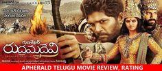 Rudhramadevi (Rudramadevi) Telugu Movie Review, Rating