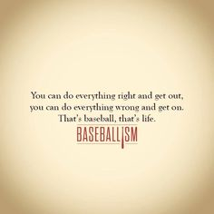 Just as in life as in baseball, if you don't have your heart in the right place. You can win and still lose or lose and still win. Baseball teaching life lessons at its best. No Crying In Baseball, Baseball Party, Baseball Season, Sports Baseball, Baseball Stuff, Baseball Crafts, Nationals Baseball, Tigers Baseball, Nfl Sports