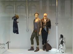 visual merchandising display mens | Zara Men's Window Display Leeds SS11