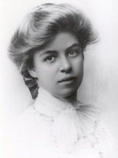 Eleanor Roosevelt when young