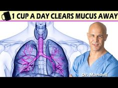 (241) 1 CUP A DAY CLEARS MUCUS AWAY - Dr Alan Mandell, DC - YouTube Natural Asthma Remedies, Health Remedies, Holistic Remedies, Natural Cures, Health And Nutrition, Health Tips, How To Stay Healthy, Tips, Health