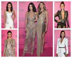 Lluvia de Ángeles en negro, blanco y oro en la 'after party' del Victoria's Secret Fashion Show - Foto 1