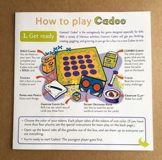 Cranium Cadoo How To Play Instructions Replacement Part - http://hobbies-toys.goshoppins.com/games/cranium-cadoo-how-to-play-instructions-replacement-part/