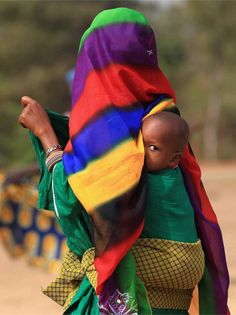 """Africa   """"Heading home"""".  Benin   ©Alice Kohler."""