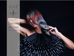 COLOR TECHIQUE 1st RANK WINNER: Ioan Bodici SALON: Johnatan / Timisoara MAKE UP BY: Larisa Dogaru