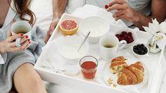 Café da manhã na cama / Breakfast in bed / Dia dos Namorados