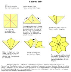 Tea Bag Folding Instructions...paper folding for card making