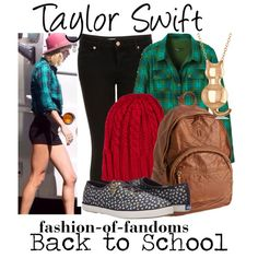 Taylor Swift by fofandoms on Polyvore featuring prAna, Topshop, Keds, Aéropostale, Allurez and Rut&Circle