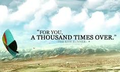 """quote-book: """" """"The Kite Runner"""" by Khaled Hosseini. original image // submitted via rinnyy. """" my favorite quote of all time. Trauma, Great Books, My Books, Kite Quotes, The Kite Runner, Books Everyone Should Read, Tumblr, All You Need Is Love, Book Quotes"""